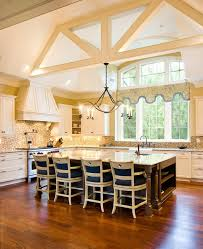 kitchens amazing luxury big kitchen with big window and high
