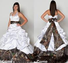 Plus Size Camouflage Clothing High Quality Halter Neck Bridal Wedding Gown Promotion Shop For
