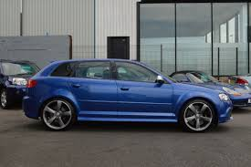 audi rs3 blue used audi rs3 2 5t fsi rs3 quattro 5dr s tronic for sale in