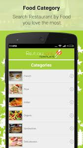 android finder restaurant finder with backend android app by freaktemplate