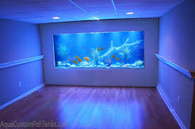 Beautiful Home Fish Tanks by Aqua Creations Custom Aquarium Wall Fish Tank Built Into The