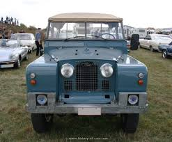 land rover series ii landrover 1958 series ii the history of cars exotic cars