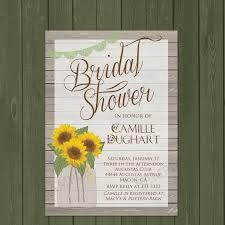 buck and doe invitations amazon com sunflower invitation rustic sunflower bridal shower