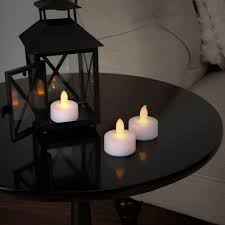 led tea lights battery life 1 5 in h led tea light candle set 24 piece whites led tea