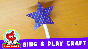 magic wand craft for kids maple leaf learning playhouse youtube
