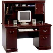 60 desk with hutch bowery hill computer desk with hutch walmart com