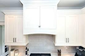 Kitchen Cabinet Moldings Shaker Cabinet Crown Molding Ohfudge Info
