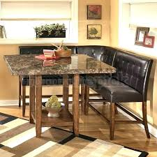 black dining table with bench round table with bench corner bench and table set dining room