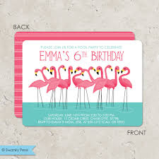 how to make pool party invitations flamingo party invitations cimvitation