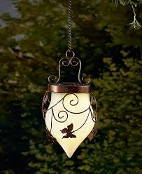 Solar Garden Tree Lights by Solar Garden Hanging Lantern Yard Garden Outdoor Lighting