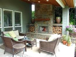 cool fireplace on deck outdoor fireplace for deck ides outdoor