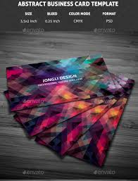 Abstract Business Cards 55 Best Buisness Card Psd Templates Themefounders