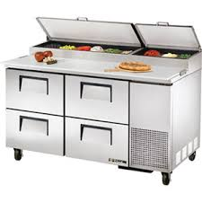 Refrigerated Prep Table by Pizza Prep Table Refrigerated Prep Tables Refrigeration