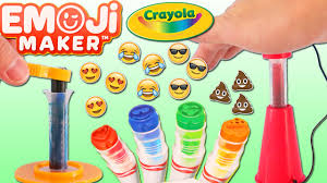 crayola emoji marker maker play kit diy fun u0026 easy make your own