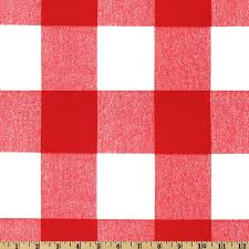 Black And White Check Upholstery Fabric Premier Prints Anderson Check Lipstick Discount Designer Fabric
