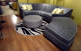 Round Sofa Chair Living Room Furniture Tousley Sofa Sectional Curved Sectionals Are Great As A Focal