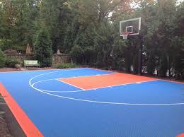 Basketball Backyard There Is Beautifully Designed Court