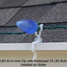 christmas light shingle clips holiday lighting outlet led all in one plus christmas light clip