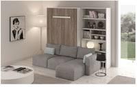lit escamotable canape armoire lit escamotable avec canapé secret de chambre