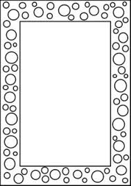 printable picture frames templates your own picture frame