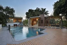 house with pool pool house 42mm architecture archdaily