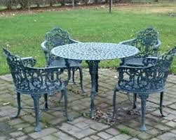 Iron Patio Table Set Breathtaking Antique Wrought Iron Patio Furniture Ebay Value