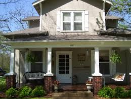 side porches our vintage home front and side porch redo