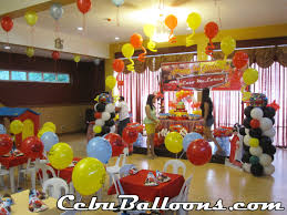 decor balloons decorations for parties best home design gallery