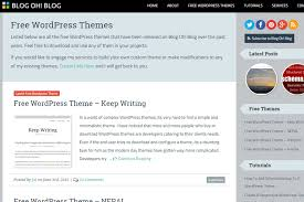 the 10 top places to download free wordpress themes