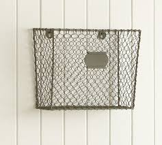 Wall Mount Wire Shelving by Wall Mount Magazine Rack Wooden Magazine Rack 10 Pocket Wall