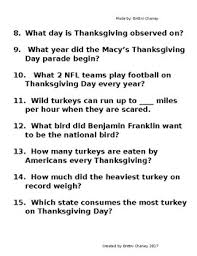 thanksgiving research packet by brittni chaney tpt