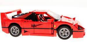ferrari lego f40 lego creator 10248 ferrari f40 unboxing and build youtube