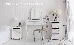 white bedroom dressing table white bedside tables and cabinet the white lighthouse