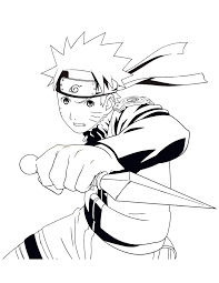 anime naruto coloring u0026 coloring pages