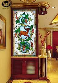 multiple ideas in stained glass designs for office and hospitality