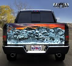 hunting truck decals truck tailgate hunting graphics wraps