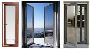 Aluminum Exterior Door Aluminium Swing Door Interior Apartment Door Soundproof Door Mq