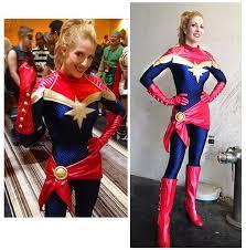 Captain Marvel Halloween Costume Captain Marvel