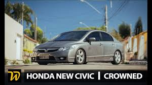 honda civic crowned top car crowned honda civic air suspension youtube
