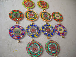 Home Decoration Ideas For Diwali Cd Diwali Craft Diwali Decor Pinterest Diwali Craft Craft