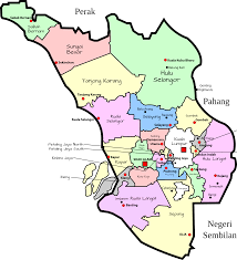 Map Of Malaysia Clipart Parliamentary Map Of Selangor Malaysia