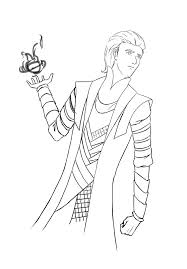 norse loki coloring pages