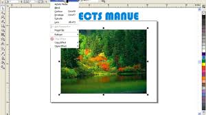 tutorial corel draw power clip word tutorial text selection font size video dailymotion