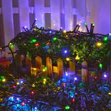 solar power led lights 100 bulb string review ledertek solar powered fairy string lights 39ft 12m 100 led