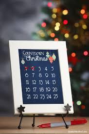 christmas countdown calendar christmas countdown calendar free printable how to nest for less
