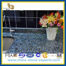 cuisine de perle pearl blue argenté granite kitchen countertop bench top yqz