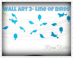wake up sid home decor wall art 3 line of birds indusladies