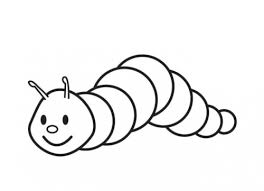 Small Creeping Caterpillar Coloring Page Science Pinterest Small Coloring Pages