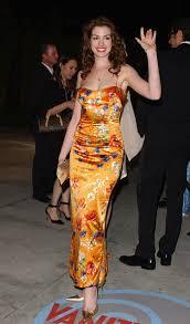 Anne Hathaway Vanity Fair Anne Hathaway In 2004 Vanity Fair Oscar Party Zimbio