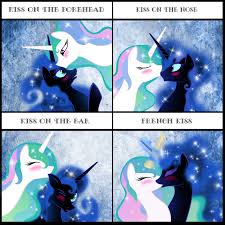 Princess Celestia Meme - kiss meme by artist apprentice587 on deviantart